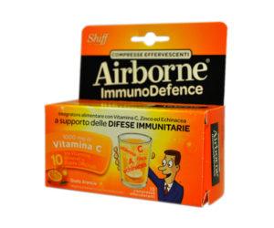 airborne compresse effervescenti arancia